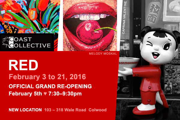 RED Show at Coast Collective